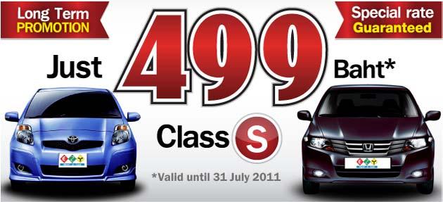 Long Term Rent Car Bangkok